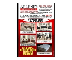 FURNISH YOUR ENTIRE One Bedroom APARTMENT/HOME FOR $1799!