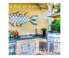 Purchase Large Metal Wall Art Sculptures