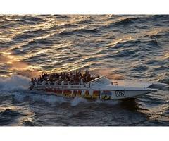 Thriller Miami Speedboat is a power catamaran