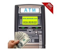 ATM Machine for Sale -- FREE ATM Machine for Qualifying Businesses.