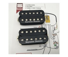 new Seymour Duncan pickups SH-4 JB SH-2n Jazz Hot Rodded Humbucker Black Guitar Pickup one Set