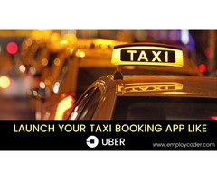 Taxi Booking App Development - Employcoder
