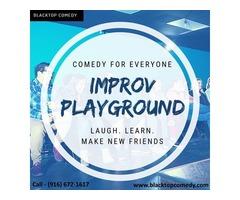 Improv Playground : Comedy for Everyone - Blacktop Comedy
