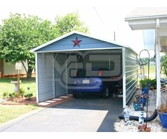Purchase Single Metal Carport at Lowest Prices