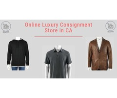 Online Luxury Consignment Store in CA