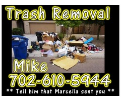 Do You Need Any Trash or Junk Removed ?