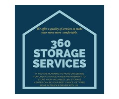 Storage Space in Newark and Fremont