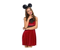 Halloween 2pcs Mistress Mouse Women Sexy Costume
