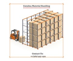 Contact Catalina Material Handling For Best Drive-in Racking systems