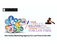 Hire Online Marketing Agency For Law Firms in the USA