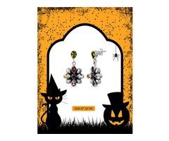 Multi-stone Dangle Earrings - Handmade .925 Sterling Silver Earrings