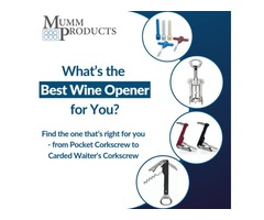 Shop the Portable Corkscrews And Stoppers At Wholeprice