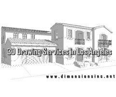 Easily Get Unique 3D Drawing Services in Los Angeles at Dimensions