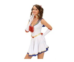 2019 5pcs Anime Sailor Heroine Halloween Costume