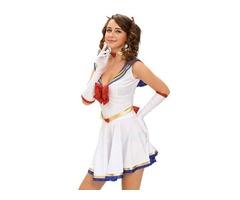 2019 5pcs Anime Sailor Heroine Halloween Costume