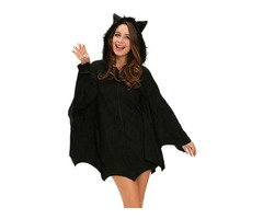 Halloween Black Bat Adult Sexy Costume