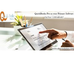 QuickBooks Pro as your Primary Software - All the Info