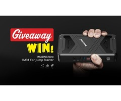 Win Imazing IM31 Jump Starter Giveaway