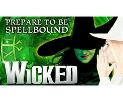 Wicked at The Gershwin Theatre in New York City-NYC