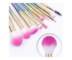 Docolor 10-Piece Fantasy Makeup Brush Set | free-classifieds-usa.com