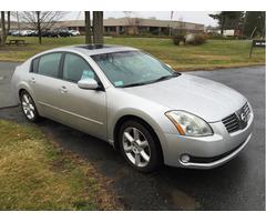 2005 Nissan Maxima with only 57K miles