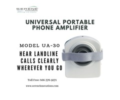 Loud the Sound with Universal Portable Amplifier