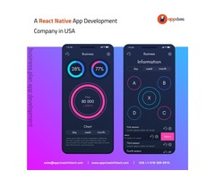 Expert React Native Mobile App Development Company in USA