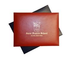 Buy Diploma Holders, Custom Diploma Cover, Certificate Cover