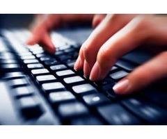 Typing Services (Transcription from audio, video or image file)