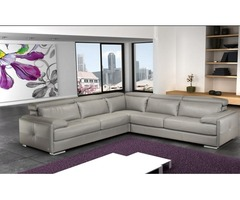 Shop for Italian Leather convertible sectional sofa Online