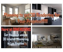 Get Quick and Efficient Services of 3D Interior Rendering