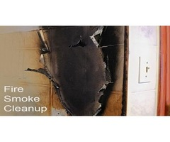 How to remove black smoke from walls