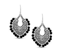Silver Black Onyx Dangle Earrings, Onyx Earrings, Dangle Earrings, Sterling Silver Dangle Earrings