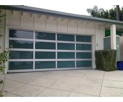 Modern Glass & Aluminum Garage Doors for sale