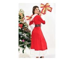 HESSZ Sexy Christmas Winter Fantasy Costume