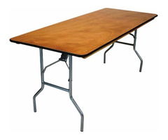 Discount Wholesale Banquet Plywood Folding Table