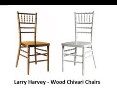 Larry Harvey - Wood Chivari Chairs