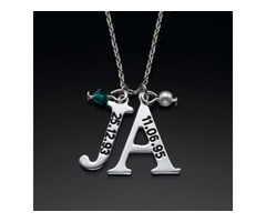 Buy Personalized custom Name Necklace in silver or gold