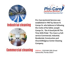 Pro-Care Janitorial Services : Commercial & Residential Professional Cleaning Services Company i