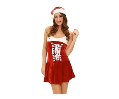 Christmas Sexy Holiday Buckles Costume For Women   free-classifieds-usa.com