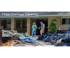 Tips for cleaning your home after water damage