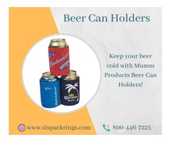 Get the best Beer can holders for your Store – Mumm Products