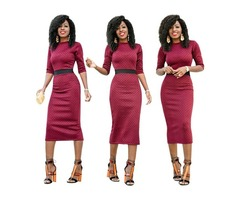 Sexy women high waist fashion good quality bodycon dress 2019  | free-classifieds-usa.com