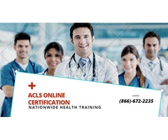 ACLS Online Certification