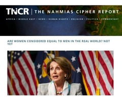 Women Equality News | Articles On Women Equality | TNCR