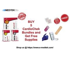 Freedom Promotion Sale   Buy 5 CardioChek Bundles   Get FREE Ancillary Supplies