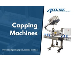 Capping Machines to 'Seal' The Deal for Almost All Types of Caps