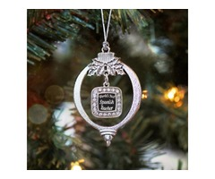 Buy World's Best Spanish Teacher Christmas / Holiday Ornament