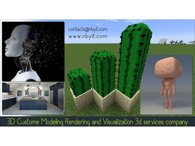 3D Customer Modeling Rendering and Visualization 3d services company | free-classifieds-usa.com