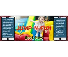 Jump N Fun Kids Birthday Party Place